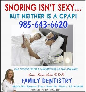 Sleep Apnea Stop Snoring Slidell LA